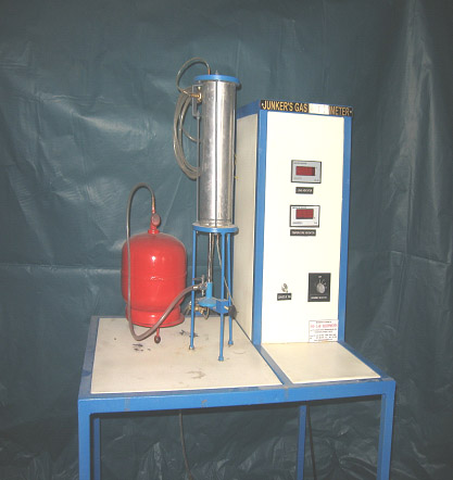 the boys gas calorimeter The following data was obtained during a test on a gaseous fuel using a boys'  gas-type calorimeter gas supply pressure 20 mm h2o ,gas.